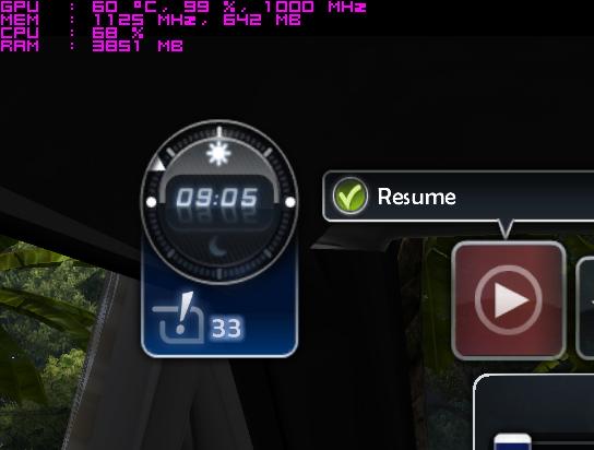 Пример мониторинга в игре